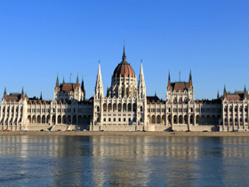 House of Parliament in Budapest copy