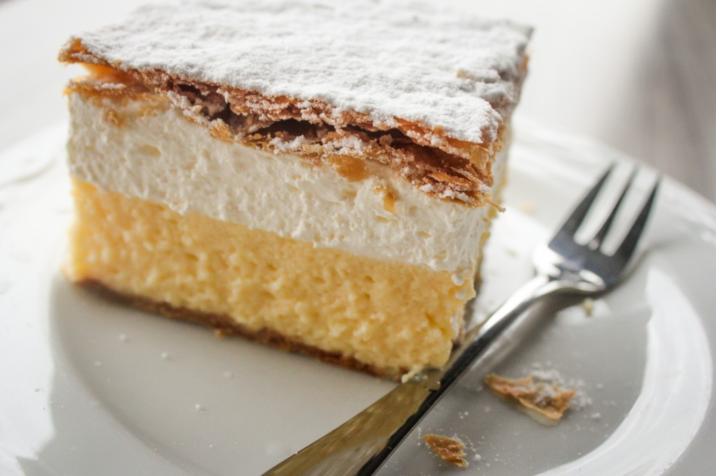 Little Wanderings - Bled Cream Cake 1